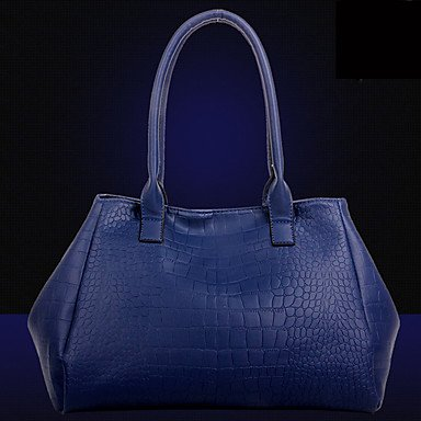 La donna pu formale / Esterni / Ufficio & Carriera Set borsa,blu Black