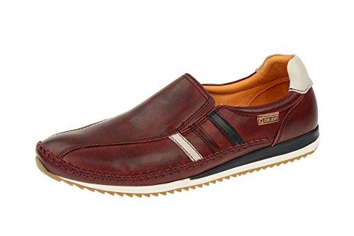 Sapatos Masculinos Pikolinos - Chinelo Confortável Liverpool Vermelho