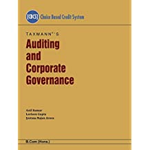 Auditing and Corporate Governance-B.Com(Hons.) (CBCS)