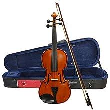 Forenza F2151A Violine Ausführung in voller Größe, 4/4, Braun