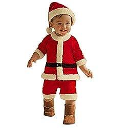 Navidad Ropa 4PCS Conjunto...