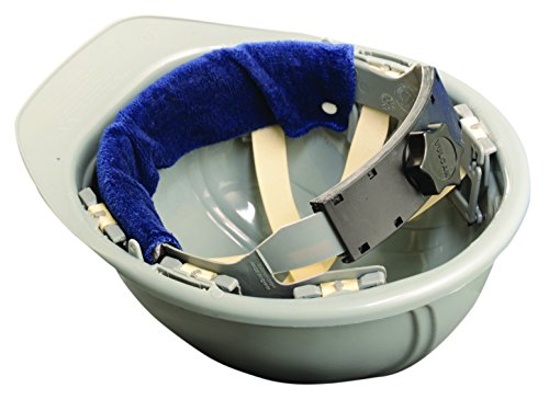 Occunomix Terry Topper (Occunomix 870-01 Terry Topper Snap-On Hard Hat Sweatband, One Size, Navy by Occunomix)