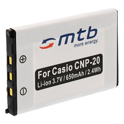 Ersatz-Akku NP-20 für Casio Exilim EX-Z18, EX-Z60, EX-Z65, EX-Z70, EX-Z75 Np-20 Batterie