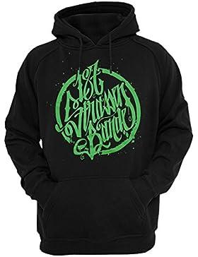 187 Straßenbande - Logo Hoodie schwarz/grün