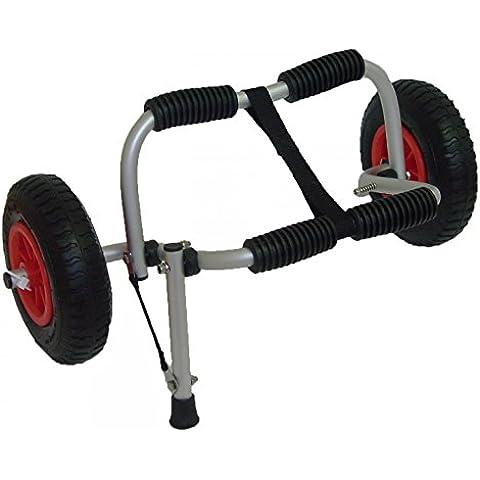 Carro para Kayak con estructura de aluminio y ruedas neumáticas