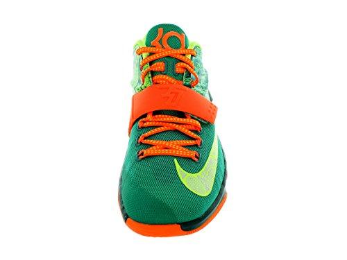 Kd Vii Mens Basketball Shoes 653 6030 Emrld Grn/Mtllc Slvr/Dk Emrld