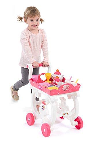 *Smoby – 310555 – Disney Princess – desserte XL – PlatEau Amovible avec Chariot – + 17 Accessoires Inclus Meilleure offre de prix
