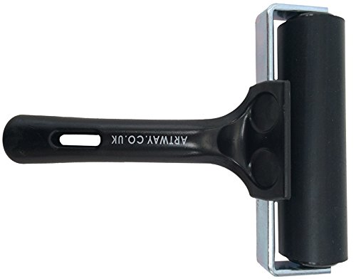 artway-inking-brayer-hard-rubber-for-lino-printing-and-block-printing-black-handle-10cm
