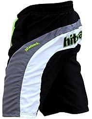 junta de Nueva HSK pantalones cortos pantalones cortos de playa Bañador de hombre casual ropa Verano navegar clothing playa verano Natación, color Negro - negro, tamaño mediano