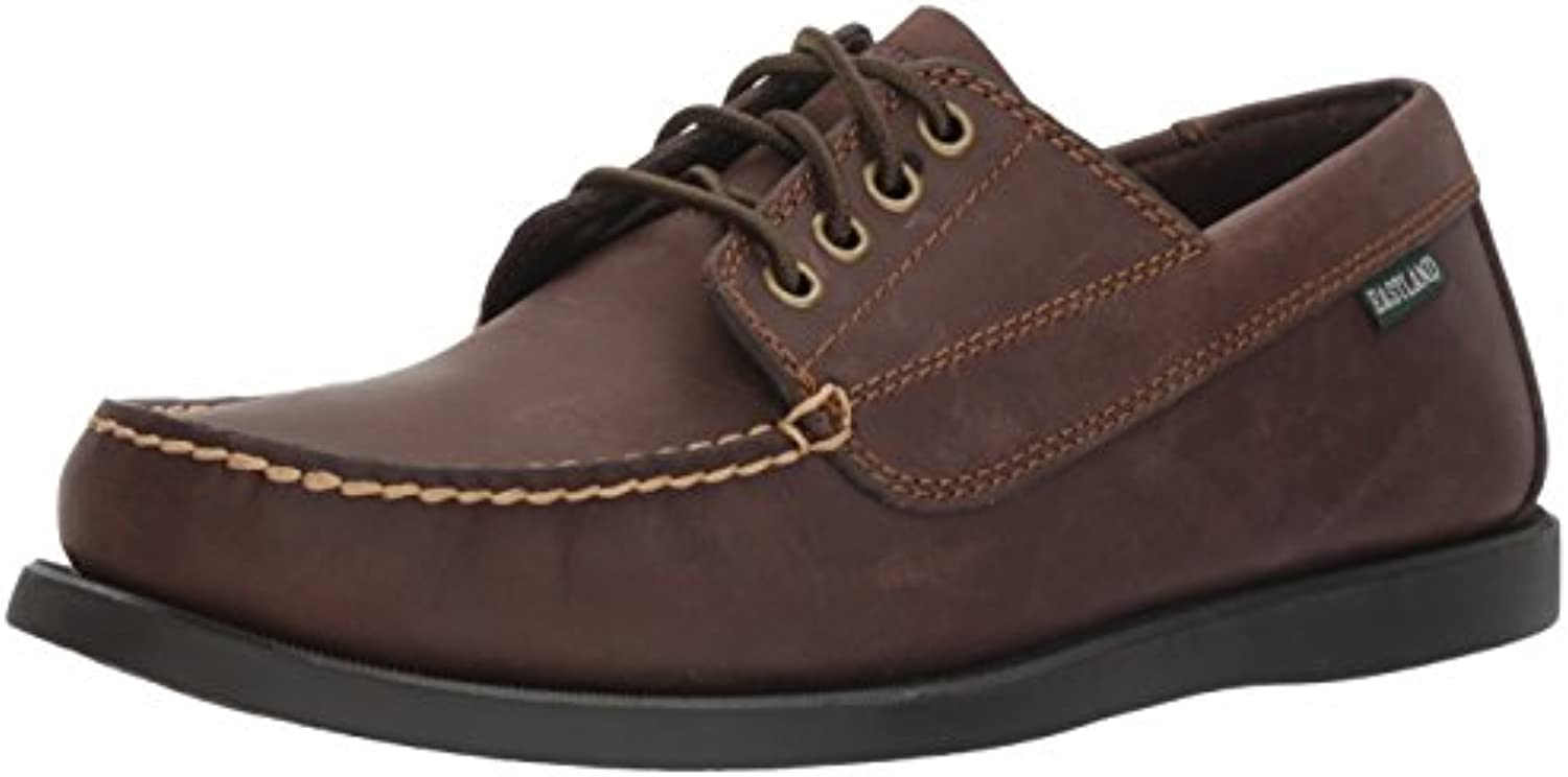 Eastland Men's Falmouth Four Eye Camp Oxford Bomber Brown 11.5 D US