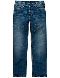 CARHARTT WIP - Jean - Homme - Jeans Straight Fit Marlow Otero Bleu Délavé pour homme