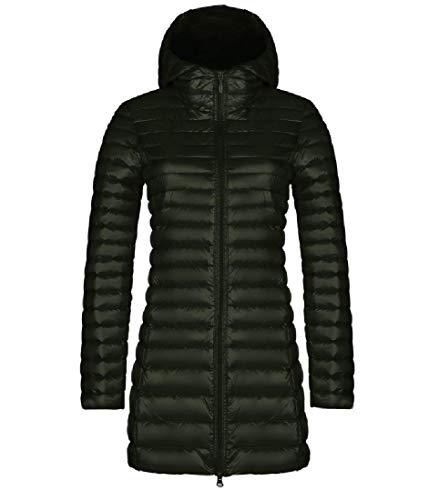 CuteRose Womens Regular Comfort Packable Plus-Size Down Puffer Hood Jacket Army Green M - Oshkosh Fleece Hoodie