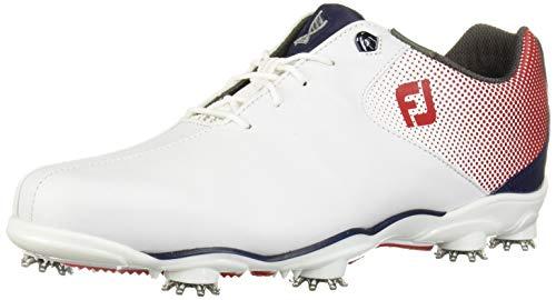 Footjoy Herren D.n.a Helix Golfschuhe, Weiß (Blanco/Rojo/Azul 53317), 45 EU