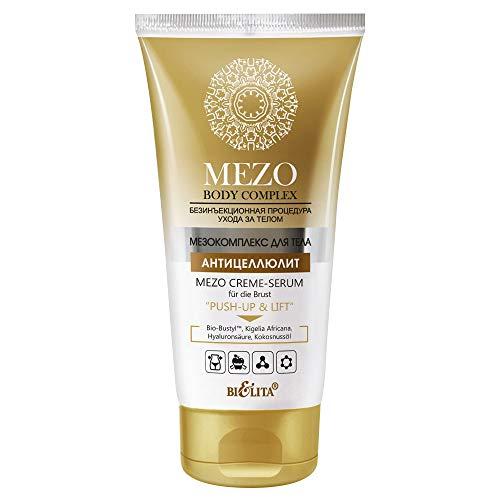 Belita MEZO Body Complex MEZO straffendes Creme-Serum PUSH-UP & LIFT für die Brust 150ml, mit Bio-Bustyl Komplex, Kokosnussöl, Hyaluronsäure und Kigelia Africana