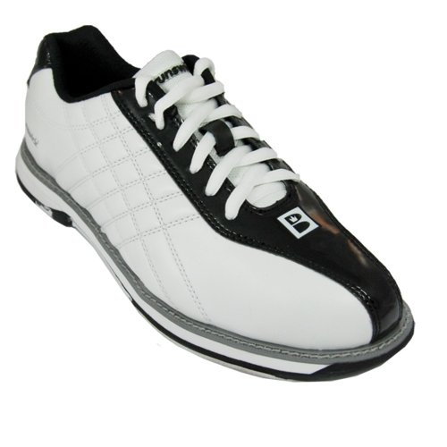 Brunswick Glide - Scarpe da bowling, da donna Bianco - bianco/nero