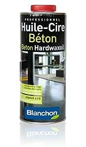 Huile-Cire Béton Blanchon - 1L