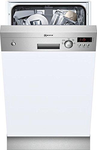 Neff s481 C50s3e Lave-vaisselle partie int egriert/A +/220 kWh/an/2380 L/AN/doseur Assistant/Affichage Temps restant en minutes/Inox