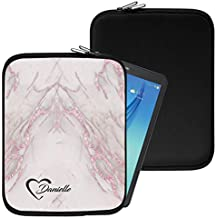 """Personalised Marble Neoprene Tablet Sleeve Bag Case -(100)- Acer Aspire Switch 10 E (SW3-013) (10.1"""")"""