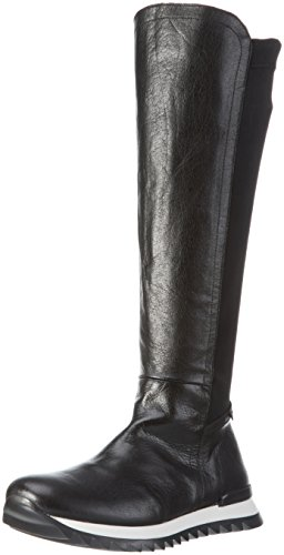 Sconosciuto - Malin, Stivali alti con imbottitura leggera Donna Nero (Nero (Negro))