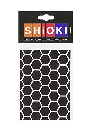 """SHIOK! Rahmenaufkleber \""""Honeycomb\"""" (Black)"""