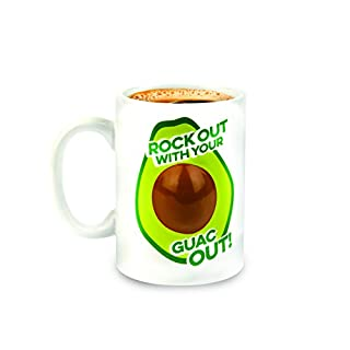Bigmouth Inc Rockin' Out Avocado Coffee Mug