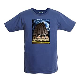 Toonstar Cartoon T-Shirt - Spirit Hunters Lightning - Blue - XS