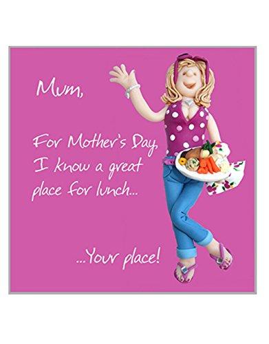 Bennett Place (Holy Makrele Grußkarte–Happy Mother 's Day. I KNOW A Great Place für Mittagessen. Ihr–Für Happy Mütter Tage, Congratulations,)