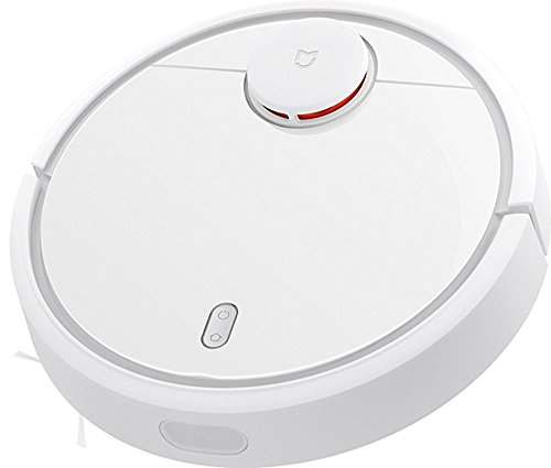 XIAOMI 2017 Robotic Vacuum Cleaner self cleaner 1800PA High Suction Self-Docking, Self-Charging with Drop-Sensing Technology, Designed for Hard Floor and Thin Carpet 5200mAH Li-Battery