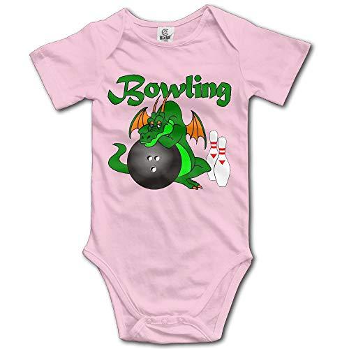 ZMYGH Bowling 2 Baby Onesie Romper for Baby Girls -