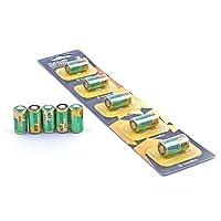 Pack de 5 batteries alcalines 6V 4LR44 (également appelée PX28A, A544, K28A, V34PX) pour le collier anti-aboiement GoodBoy
