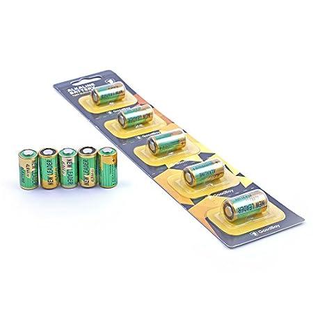 Bell-Halsband von GoodBoy, 5er Pack Alkalibatterie 4LR44(auch bekannt als PX28A, A544, K28A, V34PX)