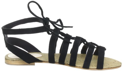 Black Lily cosmos sandal, Sandali donna Nero (Schwarz (black))