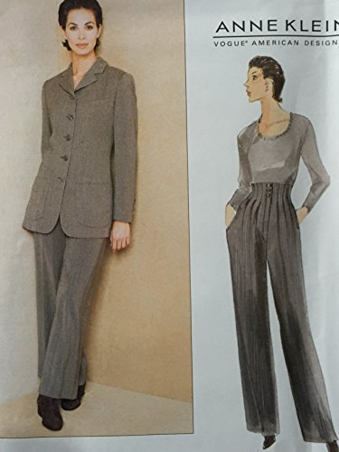 patrn-de-costura-vogue-1674de-costura-para-pantalones-de-chaqueta-tamao-18-20-22anne-klein