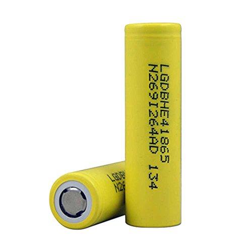 LG HE4186502500mAh 35a IMR High Drain Flat Top batteria 3.7V (confezione da 2)