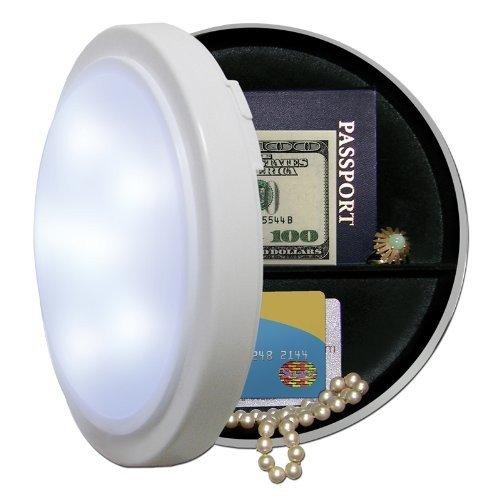 Wandlampe Tresor Versteck