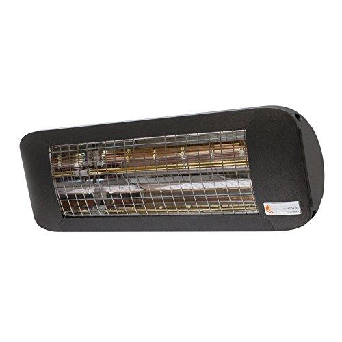 Infrarot Heizstrahler ComfortSun24 – 2000 W Infrarot Heizstrahler – Low Glare | Anthrazit | ohne Schalter - 2