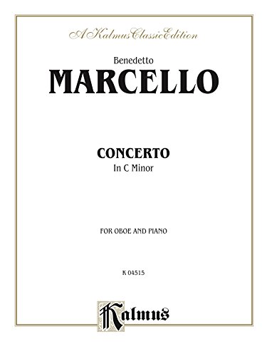 Concerto in C Minor for Oboe and Piano: Oboe Solo