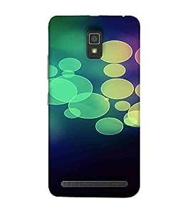 Round Circle, Black, Fantastic Pattern, Amazing Pattern, Printed Designer Back Case Cover for Lenovo A6600