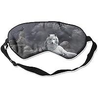White Dogs And Crow Sleep Eyes Masks - Comfortable Sleeping Mask Eye Cover For Travelling Night Noon Nap Mediation... preisvergleich bei billige-tabletten.eu