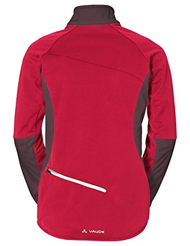 Vaude Damen Women's Resca Softshell Jacket Jacke Indian Red