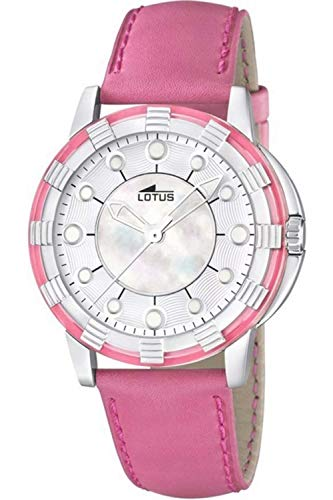 Lotus Glee Womens Analogue Quartz Watch with Leather Bracelet 15747/2