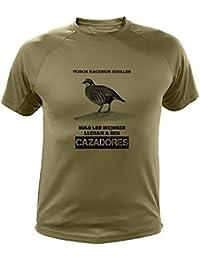 Camisetas de caza, Todos nacemos iguales, perdiz roja - Ideas regalos (30250,