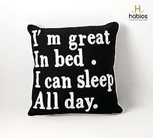 Cushion Cover - Sleep All Day - Habios