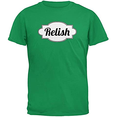 Halloween salsa traje irlandés verde adulto t-shirt