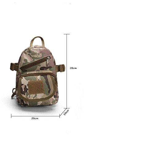 Marca 2016nuovi uomini donne sacchetti esterni Sport Escursionismo Sport Nylon maschio sport militare borsa, Digital Desert Digital Jungle