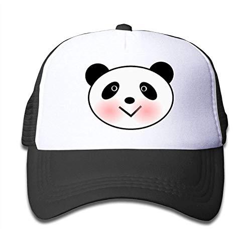 UUOnly Panda Head Mesh Baseball Cap Erwachsene Jungen Mädchen einstellbare Golf Trucker Hat