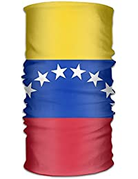 Pengyong Venezuela Glorious Bandera Unisex Moda Secado Rápido Microfibra Tocado Exterior Magic Bufanda Cuello Bufanda con