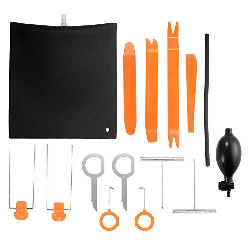 Kreema 12 Stücke Auto Tür Kunststoff entfernung Panel Audio Trim Werkzeuge Luftpumpe Keil Tasche Keil-panels