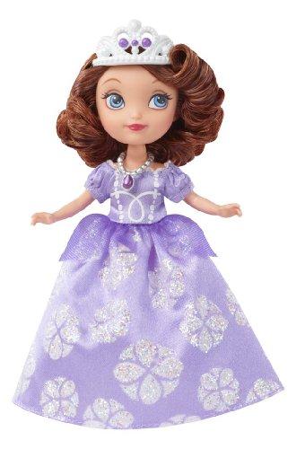 Disney Princess – Sofia die Erste – Prinzessin Sofia im purpurroten Kleid – Puppe 18 cm