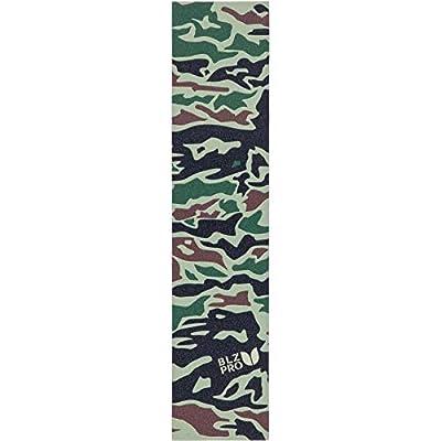 BLAZERPRO Premium Grip Sheet Camo Sandpapier für Skateboard, Unisex, Erwachsene, Grün (Grün), 130 mm